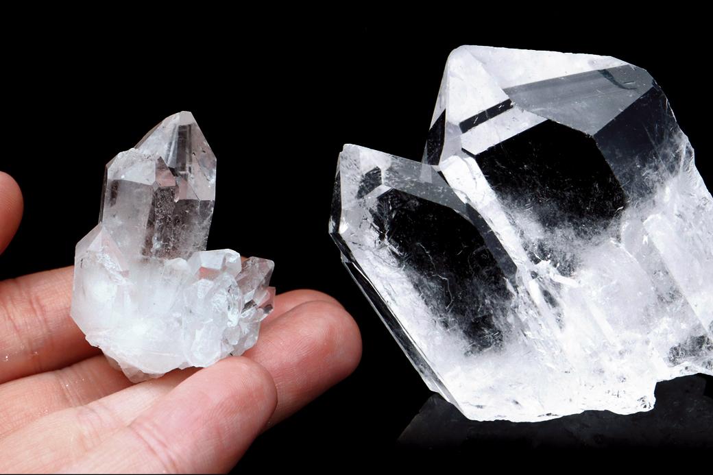 ブラジル トマスゴンサガ産水晶クラスター